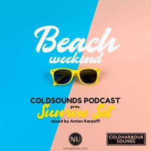 "Coldsounds - Beach Weekend ""Sunrise Set"" (mixed by Anton Karpoff)"