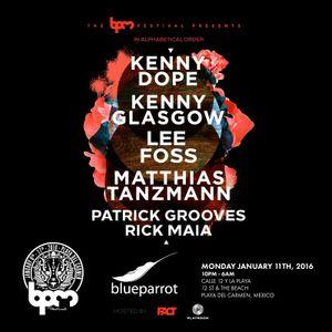 Kenny Glasgow live @ BPM Festival 2016 presents (BPM Festival 2016) – 11.01.2016 [FREE DOWNLOAD]