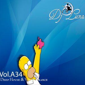 PROGRESSIVE HOUSE TECH HOUSE - DJ LUNA - VOL.A34