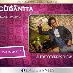 Alfredo Torres Show @ La Cubanita Bar & Dinner, Sofia 07.11.2015