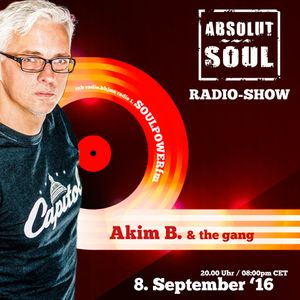 Absolut Soul Show /// 08.09.16 on SOULPOWERfm