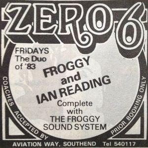 FROGGY LIVE AT ZERO 6 FRIDAY 12th NOVEMBER 1982