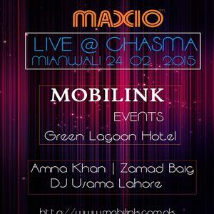 Maxio Live @ Chasma Mianwali (24.02.2015)