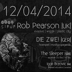 Rob Pearson @ Forward Education - Sirup - Zagreb - Croatia 12th April 2014