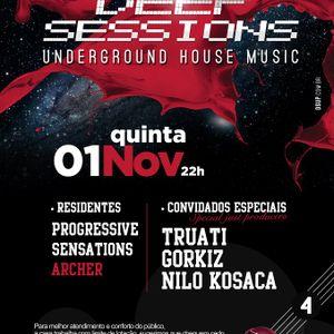Truati - Deep Sessions @ Mavs Pub 4a ediçao 01-11-12
