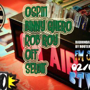 Back2TheBlock Radio - Binny Ghero/Rob Roy/Sewit/OFF
