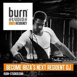 burn studios residency KICK OFF for IBIZA alphabetically mix