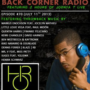 BACK CORNER RADIO: Episode #70 (July 11th 2013)