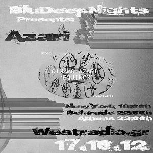 BluDeepNights on Westradio Vol.29 Zeljka Kasikovic and Azari