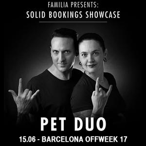 PETDuo @ Sonar Off Week Solid Bookings Showcase - Sala Salamandra - June 2017