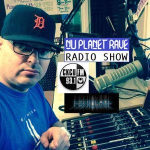 TEKNOBRAT live The Nu Planet Rave Show Episode 051 CKCU 93.1 FM Ottawa, CANADA 2014-11-09th