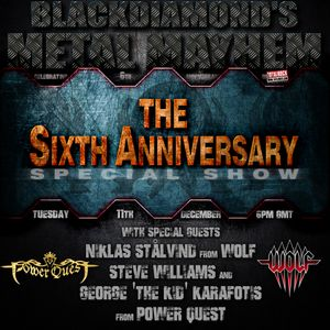Blackdiamond's Metal Mayhem 6th Anniversary Celebration 11/12/18 Part 1: With WOLF