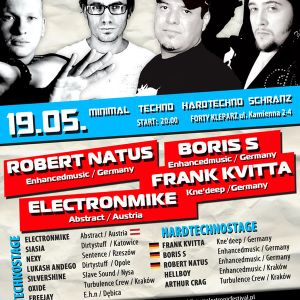 Freejay-Live@Electronic Festival/Forty Kleparz- Kvitta,Boris S,R.Natus,Electronmike Kraków19.05.2012