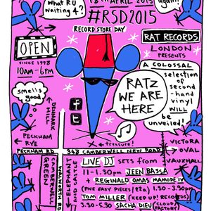 Rat Session - Record store day 2015 : Reginald Omas Mamode IV + Jeen Bassa