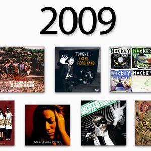As músicas de 2009 by @micaelsilva