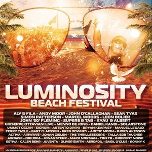 Indecent Noise - Luminosity Beach Festival 2012 at Zandvoort Beach (live)