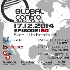 Dan Price - Global Control Episode 190 (17.12.14)