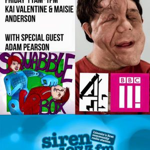 SquabbleBox on SirenFM (Special Guest: Adam Pearson) (29.01.16)