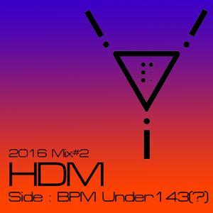 3.p- Pres Relatively-Decent Mix #02 various HDM Mix 2016 / Side Under BPM 143