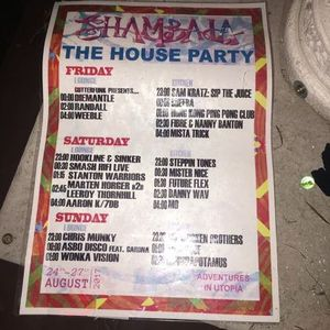 Mista Trick - The House Party - Shambala Set - Swing n Bassline