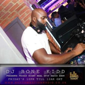 Friday Night Real Spit Radio Show on Rhythm Nation Radio Good Friday 25th March 2016