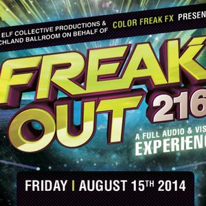 Blackbird Vs. OZMTZ - Freak Out 216! @ The Beachland Ballroom 8/15/14