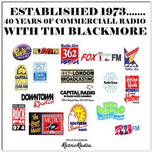 ESTABLISHED 1973 - 40 YEARS OF COMMERCIAL RADIO WITH TIM BLACKMORE - BBC RADIO 2
