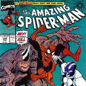 70 - Amazing Spider-Man #344 - Cletus Kasady (AKA Carnage) and Cadiac
