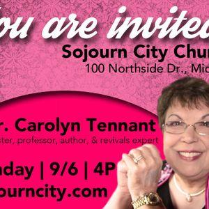 Guest Speaker - Carolyn Tennant - 9-6-15