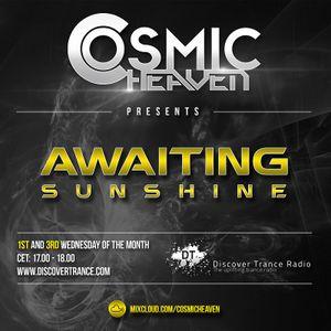 Cosmic Heaven - Awaiting Sunshine 137 (21.08.2019) [Discover Trance Radio]