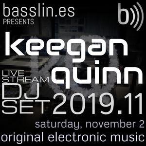 Keegan Quinn DJ Set 2019.11 // original electronic mix