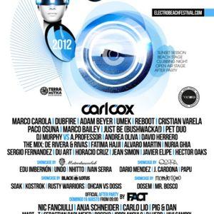 Cristian Varela - Live @ Electrobeach Festival, Benidorm, Espanha (18.08.2012)