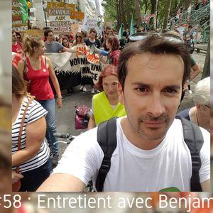 U-MAN! #58 : Entretien avec Benjamin Joyeux