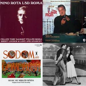 SOUNDTRACKS #16 (9 Sep 2012)  New Releases + Italy Spain and some MGM songs