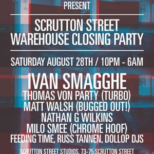 Scrutton Street Closing mix by Milo Smee