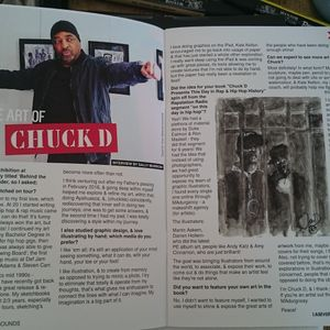 Interview with Chuck D: The Art of Chuck D with Sally Murrow