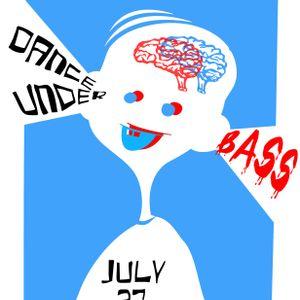 Dance Under Bass 27.7.2012 in der Caricatura Bar Kassel