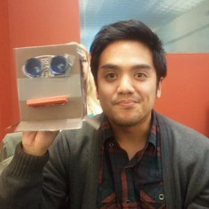 Christian Rongavilla - Writer and 826 Valencia intern
