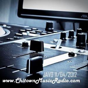 Javo's ChitownMusicRadio Mix 2012-11-04