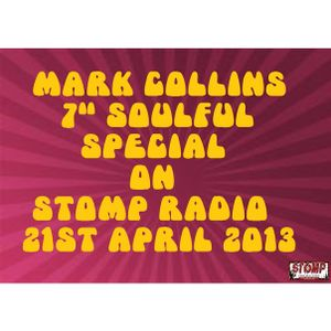 "Mark Collins 7"" Vinyl Special on Stomp Radio"