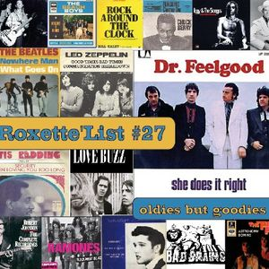 """La """"Roxette'List #27"""" diffusée sur Studio Zef le 22/01/15"""