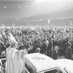All The World's A Stage: an Encounter with Pope John Paul II