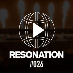 Resonation Radio #026 [May 26, 2021]