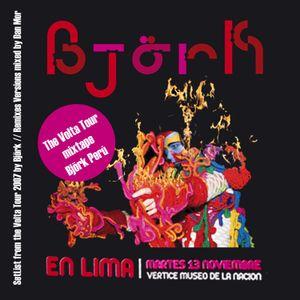 The Volta Tour MixTape for BjörkPerú