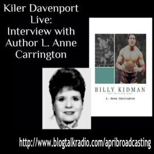 Kiler Davenport Live: Interview with Author L. Anne Carrington