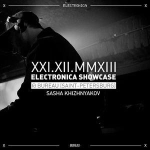 Sasha Khizhnyakov - Electronica Showcase @ Bureau (Saint-Petersburg) 21.12.2013