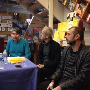 Christophe Manon et Mathieu Riboulet | entretien avec GB, Nantes, Vents d'Ouest, novembre 2015