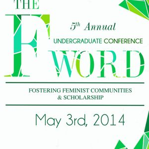 International Women's Day on CiTR: F Word Conference 2014 at UBC!