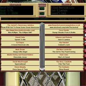 The Jacket's Americana Jukebox - Show #160