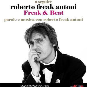 """Roberto Freak Antoni in """"Beat&Freak"""" 22/11/2013 - Circolo Arci Cucine del Popolo Massenzatico"""